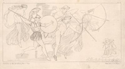 Bogowie zachęcają Greków i Trojan do walki