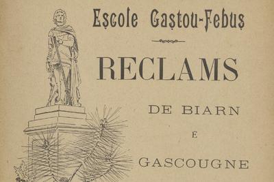 Image from object titled Reclams de Biarn e Gascounhe. - Anade 01, n°05 (Octobre-Noubémbre 1897)