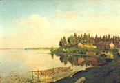 На озере. (Тверская губерния); On the Lake. (Tver region)