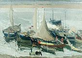 Волжский этюд; Volga Sketch