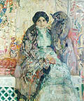 Женщина с филином; A Woman with an Eagle Owl