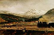 Горный пейзаж; Mountain Landscape