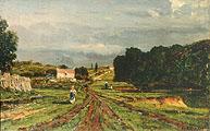 Ножан. После дождя. Франция; Nogents. After the Rain. France