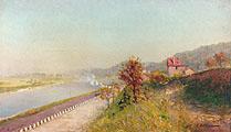 Нормандия. Вид на Суверен-Вандр от Императорской фермы; Normandy. A View of the Sovereign-Vendres from the Imperial Farm