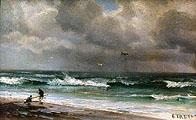 Этрета. Отлив. Франция. Нормандия; Etretat. Low Tide. Normandy. France