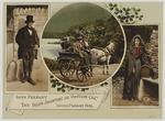 "Image from object titled Irish Peasant, Irish Jaunting or ""Outside Car"" and Cottage, Irish Peasant Girl"