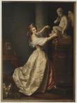 Jeune fille ornant la statue de l'Amour Musée du Louvre