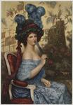 La femme à la l'éventail Musée du Luxembourg