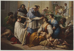 Der Heilige Borromeus & die Pestkranken Schleissheimer-Galerie