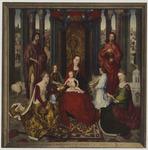 Mariage mystique de St. Cathérine Bruges, Hôpital St. Jean