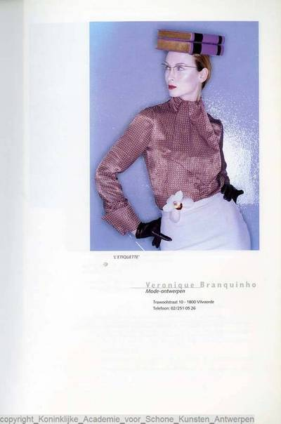 Image from object titled Veronique Branquinho 'L'Etiquette'  afstudeercollectie 1995
