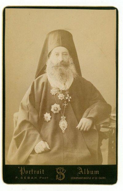 Φωτογραφία ελληνορθόδοξου ιερωμένου