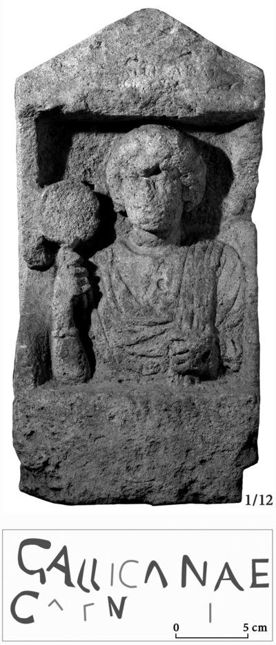 Image from object titled Épitaphe de Gallicana (?)