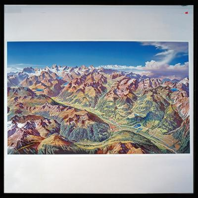 Image from object titled Sommer - Panorama Montafon / Helmut Klapper