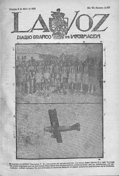 Image from object titled La voz : diario gráfico de información: Año VII Número 2407 - 1926 abril 8