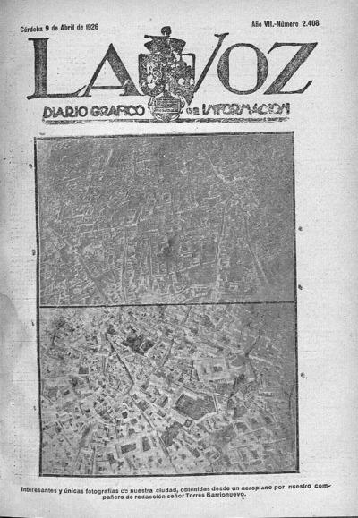 Image from object titled La voz : diario gráfico de información: Año VII Número 2408 - 1926 abril 9