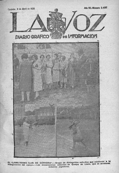Image from object titled La voz : diario gráfico de información: Año VII Número 2410 - 1926 abril 11