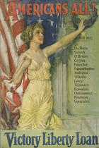Image from object titled Americans all! Victory Liberty Loan