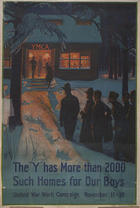 """The """"Y"""" has more than 2000 such homes for our boys United War Work Campaign November 11-18"""