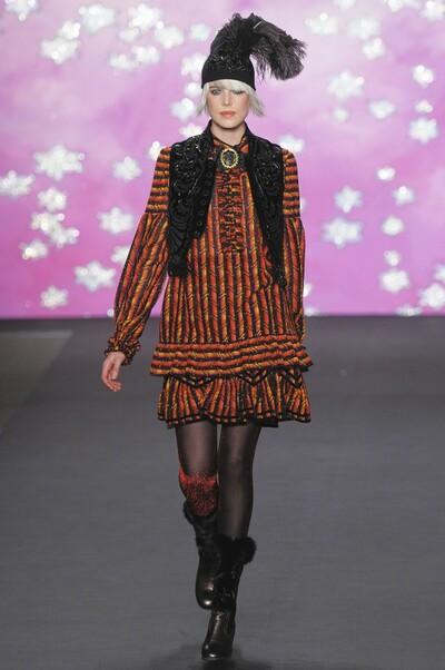 Anna Sui, Autumn-Winter 2009, Womenswear