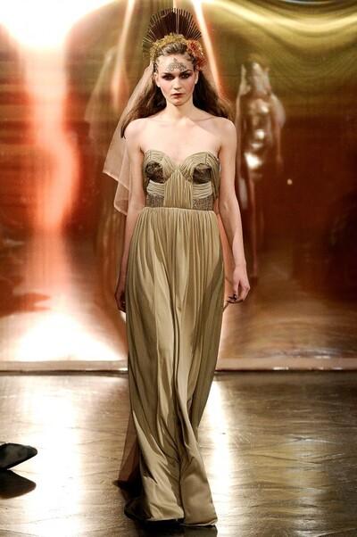 Ashley Isham, Spring-Summer 2012, Womenswear