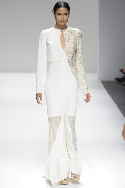 Image from object titled Bibhu MohapatraWomenswearSpring-Summer 2013