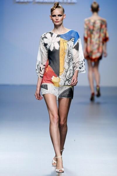 Elio Berhanyer, Spring-Summer 2011, Womenswear