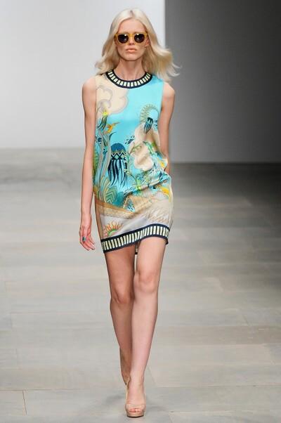 Holly Fulton , Spring-Summer 2012, Womenswear