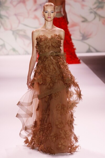 Monique Lhuillier , Spring-Summer 2011, Womenswear
