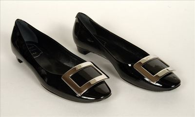 Schoenen in zwart lakleer