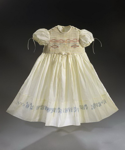 Dress for a girl's naming ceremony