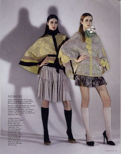 Archivio Missoni - Editorial page from Annabelle, Switzerland