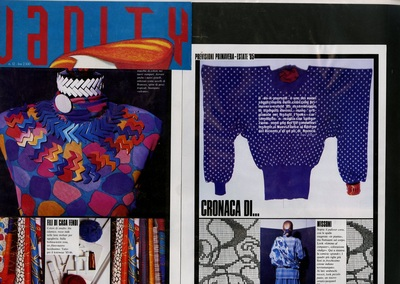 Archivio Missoni  editorial pages