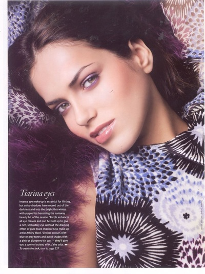 Archivio Missoni - Editorial page from Red, GB