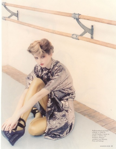 Archivio Missoni - Editorial page from Annabelle, CH