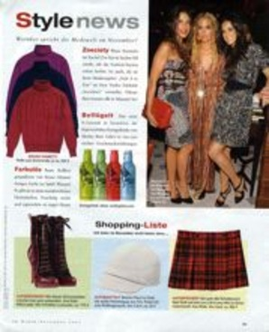 Editorial Page from in Style(de), 112007