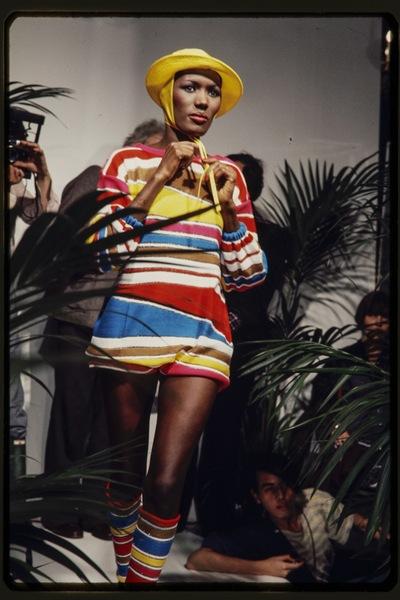 Fashion show Kansai Yamamoto  spring/summer 1977