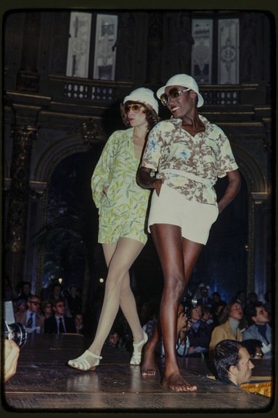 Fashion show Georges Rech spring/summer 1977