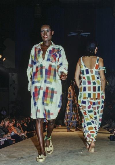 Fashion show Chantal Thomas for Ter et Bantine  spring/summer 1977