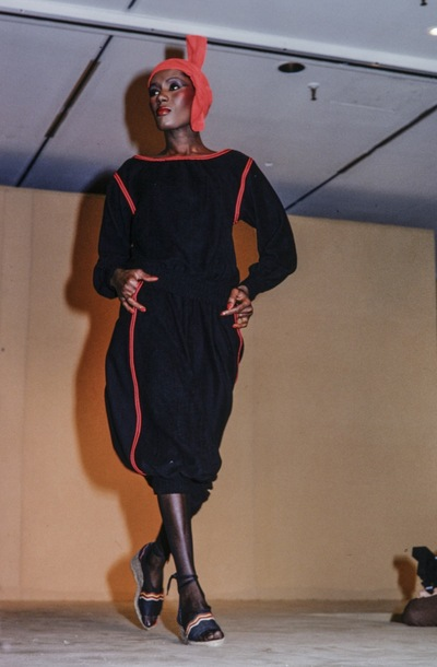 Fashion show Yves St. Laurent  spring/summer 1977