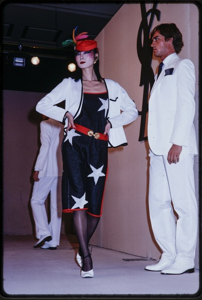 Fashion show Yves St. Laurent