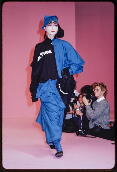 Fashion show Kansai Yamamoto