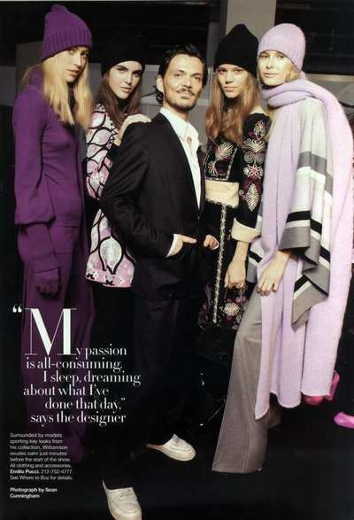 Harper''s Bazaar USA - Intervista a M. Williamson