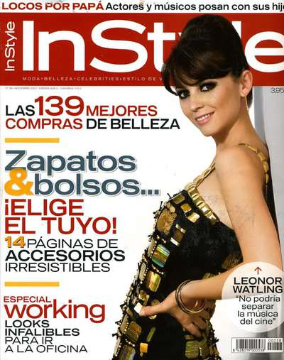 Image from object titled InStyle Spagna - Cover