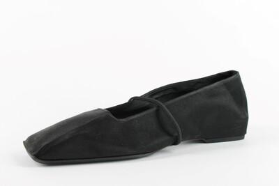 raso nero e elastico nero