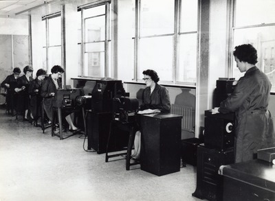Image from object titled Office workers