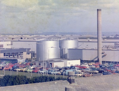 Image from object titled Tallaght factory including car park