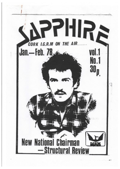 Image from object titled Sapphire; Newsletter of Cork IGRM