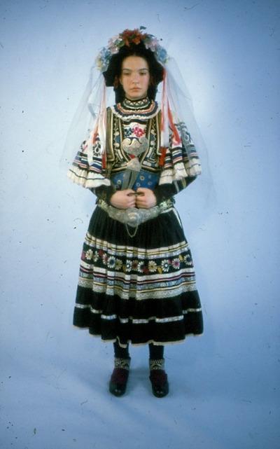 Image from object titled 1968_.jpg - Bridal dress, Sarakatsani; 1968_.jpg - Νυφική φορεσιά Σαρακατσάνας