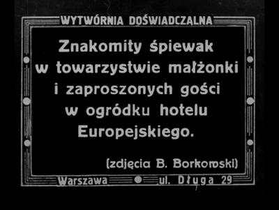 Image from object titled Ze świata wokalnego. Miguel Fleta w Polsce
